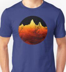 Sci Fi Mountains Landscape T-Shirt