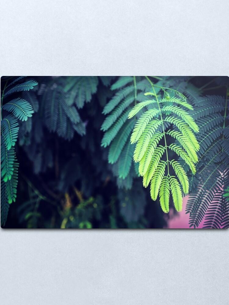 Alternate view of Green garden 3 Metal Print