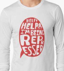 Help Help Long Sleeve T-Shirt
