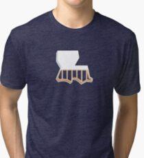 Louisiana Strong Tri-blend T-Shirt