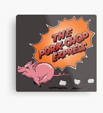 Jack Burton's - The Pork Chop Express Metal Print