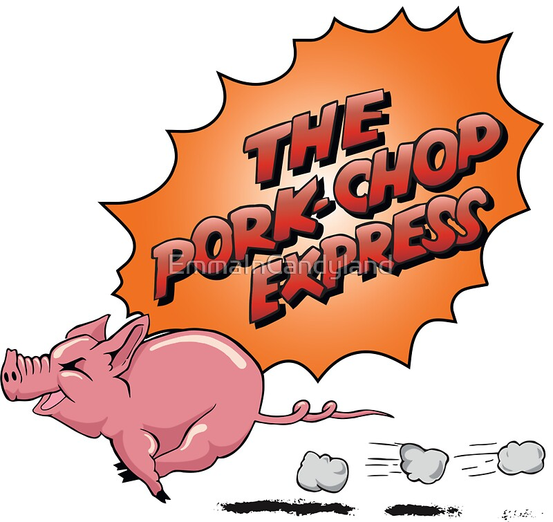 Jack burtons the pork chop express by emmaincandyland