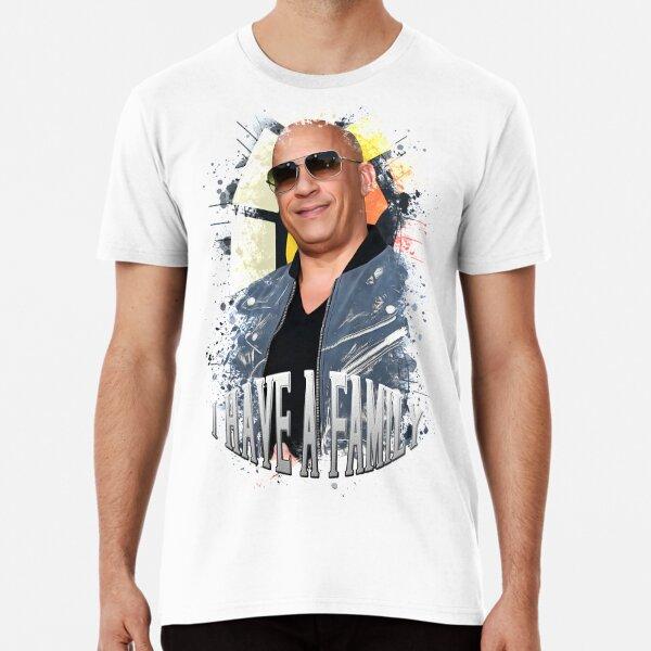 Vin Diesel / Hochwertiger digitaler Kunstdruck - 147211035 Premium T-Shirt
