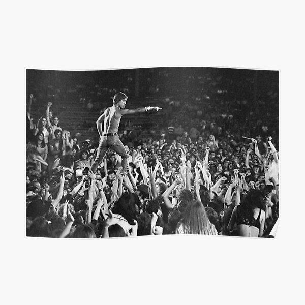 Iggy Pop Live Poster