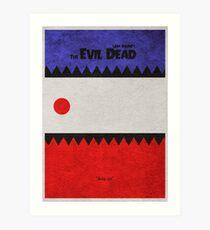 The Evil Dead Art Print