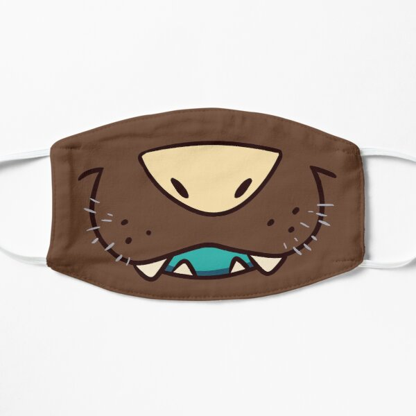 Wildhund Maulkorb V2 Flache Maske