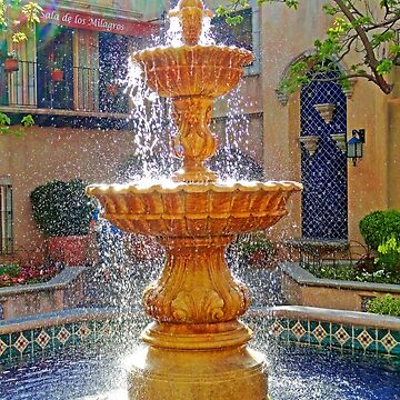 Tlaquepaque Fountain in Sunlight  by bobmeyers