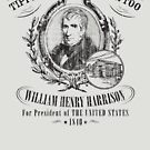 William Henry Harrison Tippecanoe and Tyler Too 1840 Presidential Campaign by retrocampaigns