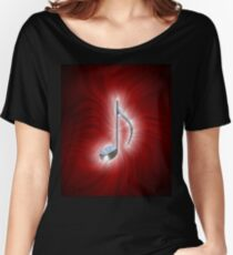 Radiating Music 3 Women's Relaxed Fit T-Shirt