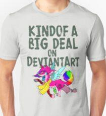 Kindof a big deal on DA - queen sparkledog Unisex T-Shirt