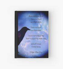 Poe-I Loved Alone-2 Hardcover Journal