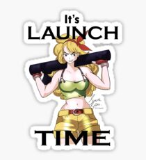 Launch Time Sticker