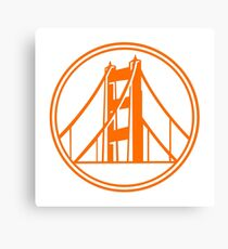 Golden Gate Golden State Canvas Print