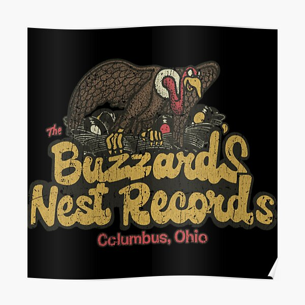Buzzard's Nest Records 1976 Shirt Poster