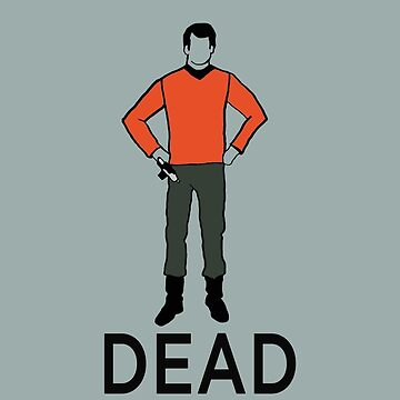 Dead Red Shirt by Jawiin