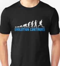 Funny Scuba Diving Evolution Continues T-Shirt