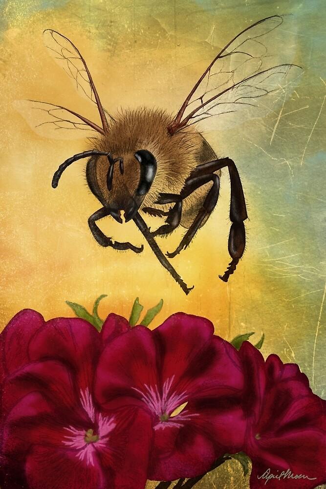 Bee I by April  Moen