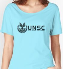 Halo - United Nations Space Command Women's Relaxed Fit T-Shirt