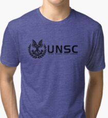 Halo - United Nations Space Command Tri-blend T-Shirt