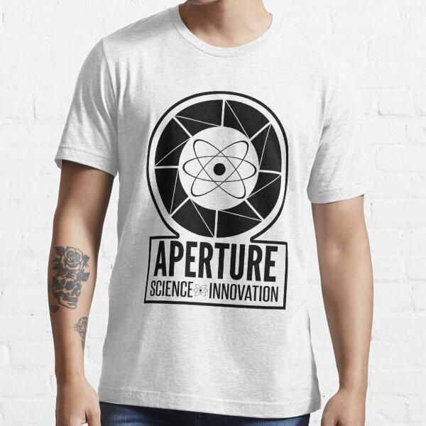 Aperture Laboratories Enfants Fille T-shirt Science Logo Labs Game Portail