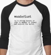 Wanderlust Men's Baseball ¾ T-Shirt