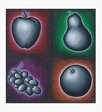 Four Fruits Photographic Print