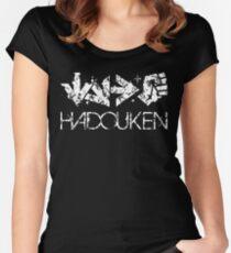 Hadouken - Street Fighter 2 Women's Fitted Scoop T-Shirt