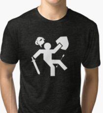 Arrow To The Knee Skyrim Tri-blend T-Shirt