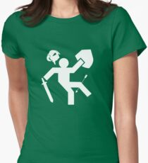 Arrow To The Knee Skyrim Womens Fitted T-Shirt