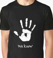 Dark Brotherhood - We Know Graphic T-Shirt