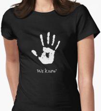 Dark Brotherhood - We Know Women's Fitted T-Shirt