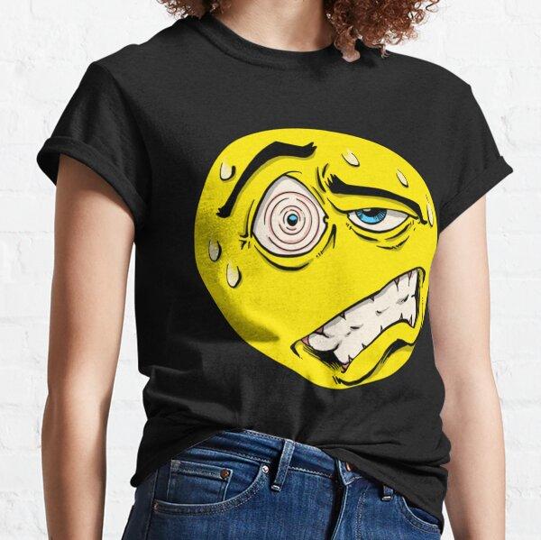 Schmerzen im Smiley-Gesicht Classic T-Shirt