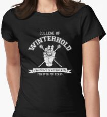 Skyrim - College of Winterhold Women's Fitted T-Shirt