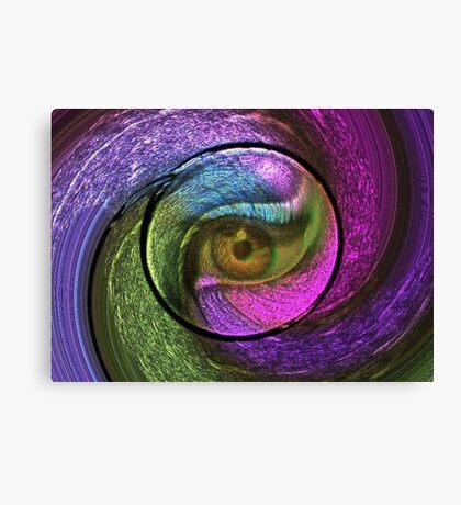 Eye-shadow Canvas Print
