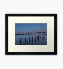 Bay Bridge - San Francisco  Framed Print