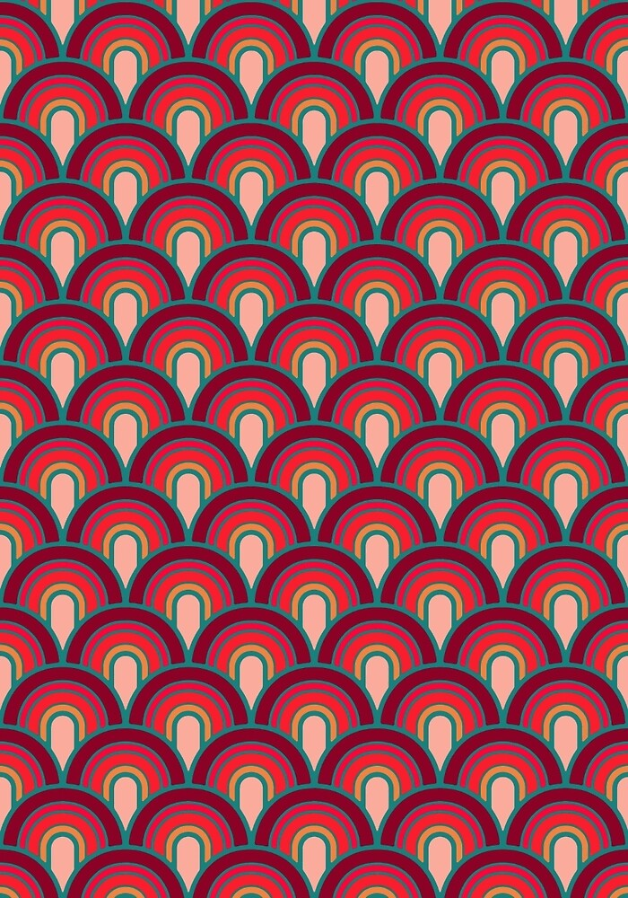 Pattern Retro Style by MEDUSA GraphicART