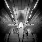 Southwark Underground by Matthew Siller