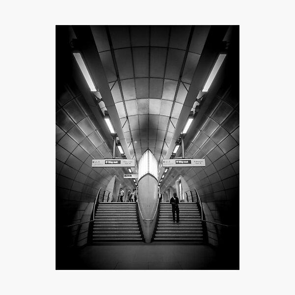 Southwark Underground Photographic Print