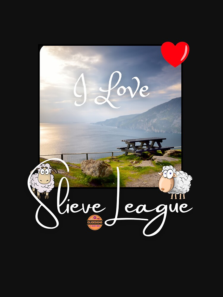 I Love Slieve League WH by OliDesigns