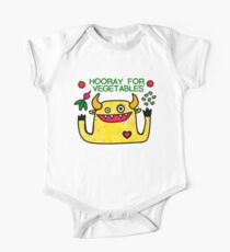 Hooray for Vegetables One Piece - Short Sleeve