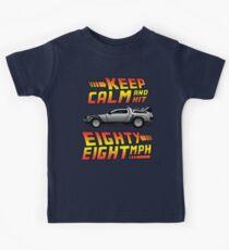 Keep Calm and Hit Eighty-Eight MPH Kids Tee