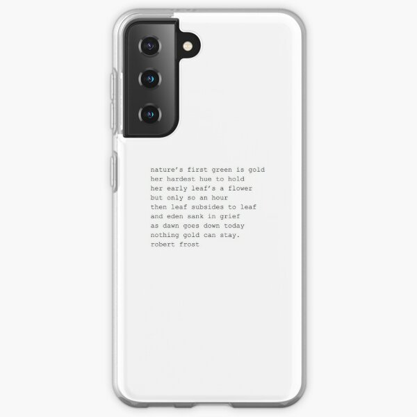 The Outsiders Poem Samsung Galaxy Soft Case