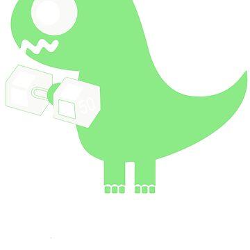 Tyrannosaurus Flex by airblade154