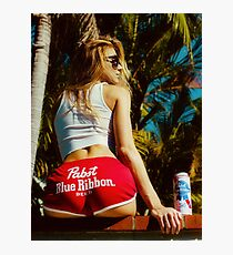 WHITE HOT AMERICA Photographic Print