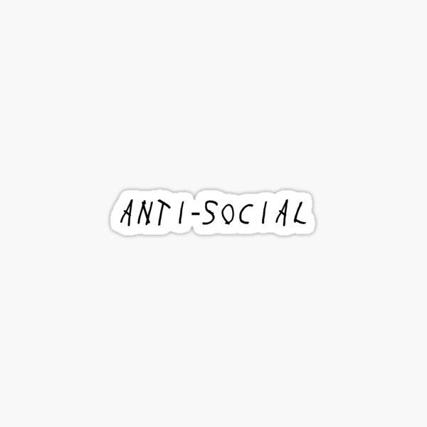 Anti-social Sticker