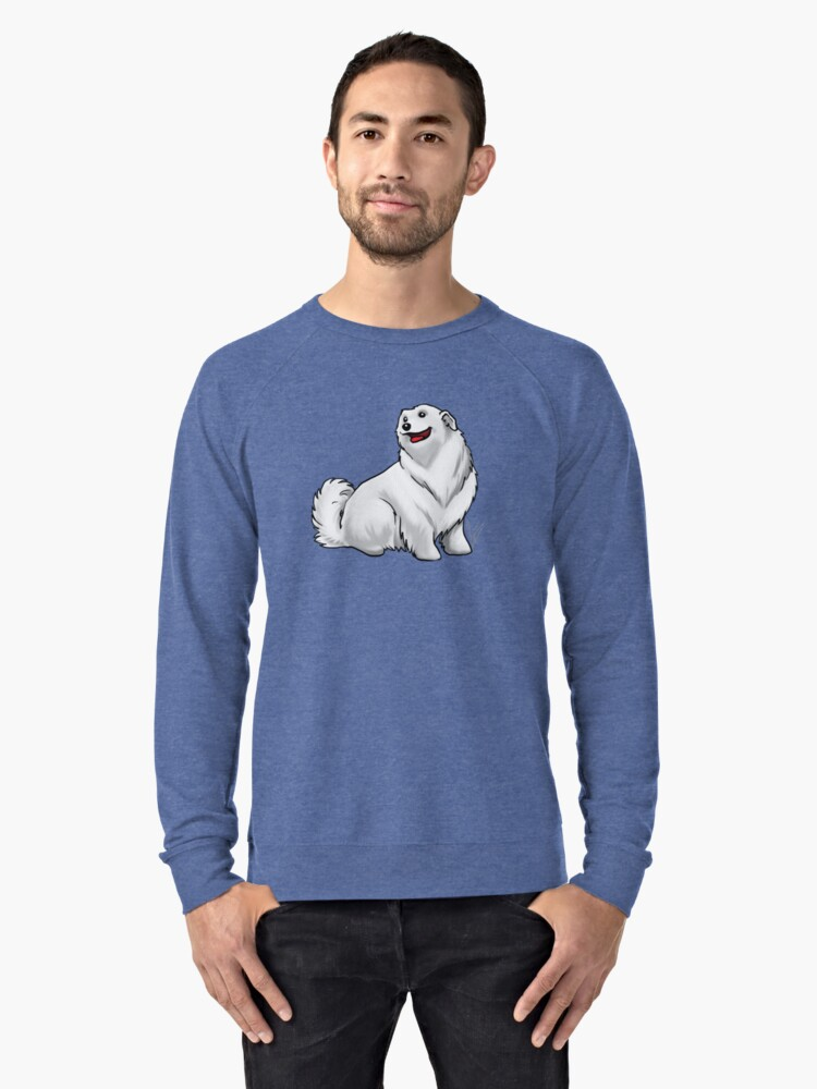 Great Pyrenees Lightweight Sweatshirt Front