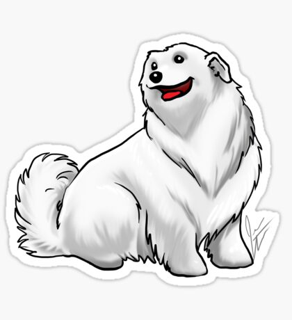 Great Pyrenees Glossy Sticker