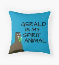 Gerald is my Spirit Animal Throw Pillow