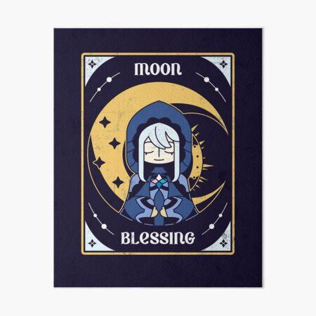 Moon Blessing Art Board Print