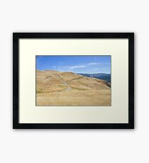 Trail at Alum Rock, San Jose, California, USA. Framed Print